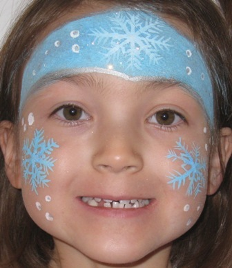 Christmas Face Paint.Calgary Christmas And Holiday Party Face Painting Designs