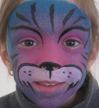 Imaginative Cat Face Painting