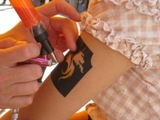 Airbrush Tattoo in Action