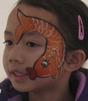 Pucker Up! Fish Face Painting